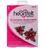 Heartfelt Creations Shaping Mold - 3D Poinsettia