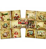 IndigoBlu - Christmas Compendium - Mixed Media Paper Pad - 6x6, 24 sheets, 190gsm