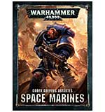 Codex - Adeptus Astartes Space Marines (English Hardback) [530763]