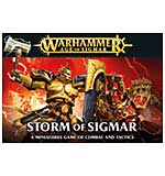Storm of Sigmar - A Minitures Game of Combat and Tactics (13 models)