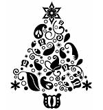 Couture Creations Rudolph - Embossing Folder (Ho Ho Ho Collection)