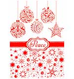 Couture Creations Peace and Joy - Embossing Folder (Wrapped in Joy Collection)