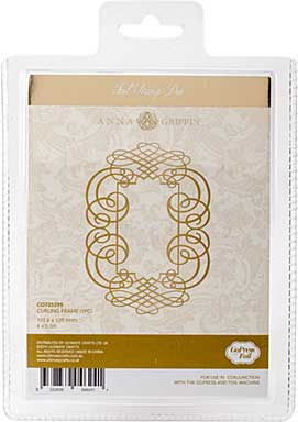 Couture Creations GoPress Anna Griffin Hotfoil Plate - Curling Frame