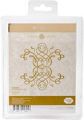 Couture Creations GoPress Anna Griffin Hotfoil Plate - Curling Motif