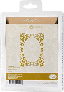 SO: Couture Creations GoPress Anna Griffin Hotfoil Plate - Classic Frame
