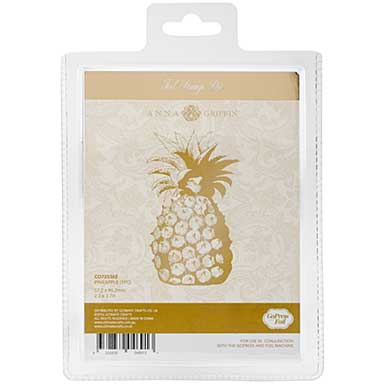Couture Creations GoPress Anna Griffin Hotfoil Plate - Pineapple