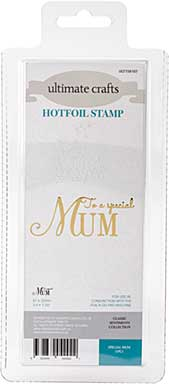 GoPress Hotfoil Plate Classic Sentiments - Special Mum