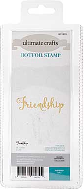 GoPress Hotfoil Plate Classic Sentiments - Friendship