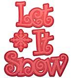 PRE: Spellbinders Shapeabilities Die D-Lites - Let It Snow