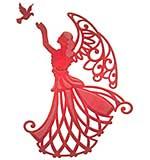 Spellbinders Shapeabilities Die D-Lites - Angel Of Peace
