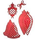 Spellbinders Shapeabilities Die D-Lites - Lattice Ornaments