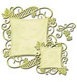Spellbinders Nestabilities Decorative Elements Dies - Curved Square