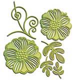 Spellbinders Shapeabilities Dies - Romantic Blooms 1