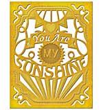 PRE: Spellbinders Card Creator Die - You Are My Sunshine