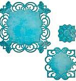 PRE: Spellbinders Nestabilities Decorative Elements Dies - Labels 49 Deco Accents