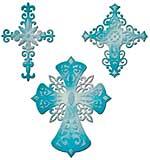 PRE: Spellbinders Shapeabilities Dies - Victorian Crosses