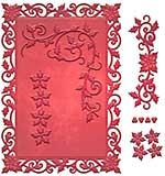 Spellbinders Card Creator Die - Holly Frame 5x7