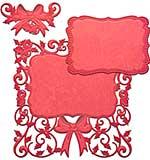 Spellbinders Card Creator Die - Decorative Holly Frame