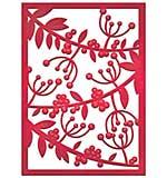Spellbinders Card Creator Die - Mistletoe Card Front