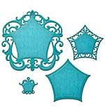 PRE: Spellbinders Nestabilities Decorative Elements Dies - Labels 48 Deco Element