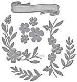 Spellbinders Shapeabilities Dies - Floral Berry