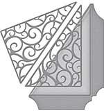 SO: Spellbinders Shapeabilities Dies - Filigree Side Pocket