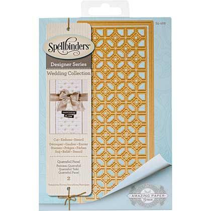SO: Spellbinders Shapeabilities Dies - Quatrafoil Panel