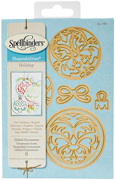 SO: Spellbinders Shapeabilities Dies - Gilded Ornaments