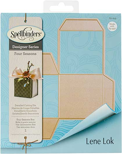 Spellbinders Shapeabilities Dies - Four Seasons - Tea LightGift Box (Lene Lok)