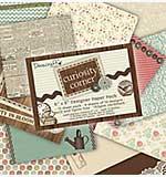 Dovecraft 6x6 Designer Paper Pad Pack - Curiosity Corner