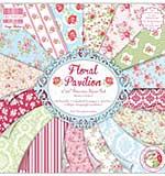 First Edition Premium Paper Pad 12x12 48pk - Floral Pavilion