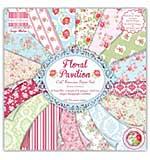 First Edition Premium Paper Pad 6x6 64pk - Floral Pavilion
