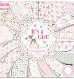 First Edition Premium Paper Pad 12x12 48pk - Its A Girl