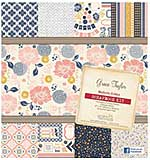 Grace Taylor Modern Cabin 16 Sheet ScrapBook Kit