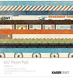 Kaisercraft Paper Pad 6.5x6.5 - Wanderlust
