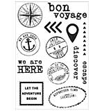 Wanderlust Clear Stamps 6.25x4