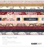 Kaisercraft Paper Pad - Ma Cherie 6.5x6.5 (40 sheets)