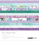Kaisercraft Paper Pad - Fairy Dust 6.5x6.5 (40 sheets)