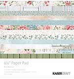Kaisercraft Paper Pad 6.5 x 6.5 - Rose Avenue (40pk)
