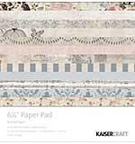 Kaisercraft Paper Pad 6.5x6.5 - Romantique (40pk)