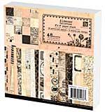 Prima Marketing Paper Stack 6x6 48pk - Almanac Collection