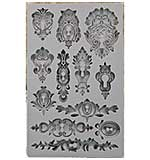 Iron Orchid Designs - Vintage Art Decor Mould - Keyholes