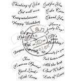Marianne Design - Clear Stamp - Best Wishes