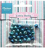 SO: Marianne Design - Decoration - Mini Bells Light Blue & Dark Blue