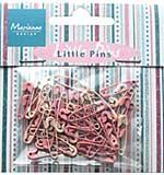 Marianne Design - Decoration - Mini Pins - Light Pink & Pink