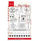 Marianne Design Medical Set (Clear Stamp Set)