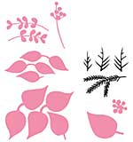 Marianne Design Collectables - Eline's Poinsettia (6pcs)