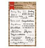 Marianne Design Birthday Wishes Stamp