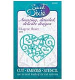 Sweet Dixie Cutting Die - Filagree Heart