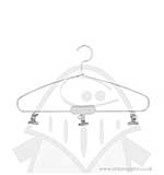 Large Project Hanger 26cm x 15cm with 3 Clips - White